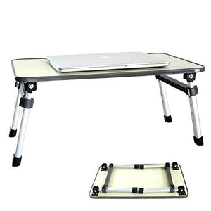 TopMart Adjustable Laptop Desk Table/Study Table/Bed Table