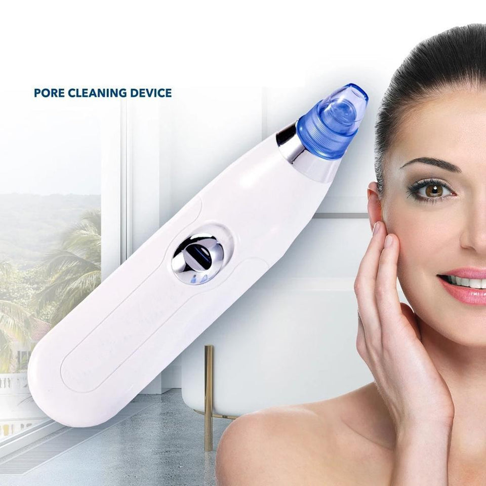 TopMart Black Heads White Heads Extractor Remover Acne Pimple Pores Cleaner (Vacuum Suction Tool)