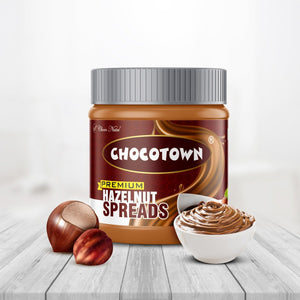 TopMart Choco Nutri Chocolate Spreads - Premium Hazelnuts Spreads - 350 gm