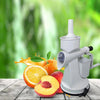 TopMart Plastic Manual Citrus Juicer with Waste collector & Vaccum locking system