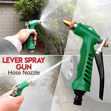 TopMart Durable Hose Nozzle Water Lever Spray Gun