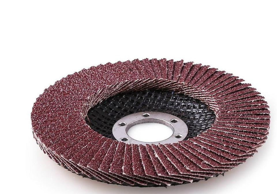 TopMart Polishing  Flap Disc Sanding Grinding Wheel, Polishing Wheel Grinding Disc (100 X 16 mm)