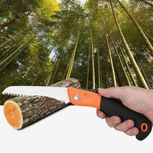 TopMart Folding Saw(180 mm) for Trimming, Pruning, Camping. Shrubs and Wood