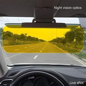 TopMart Anti-Glare HD Car Sun Vision Visor Eyes Protector