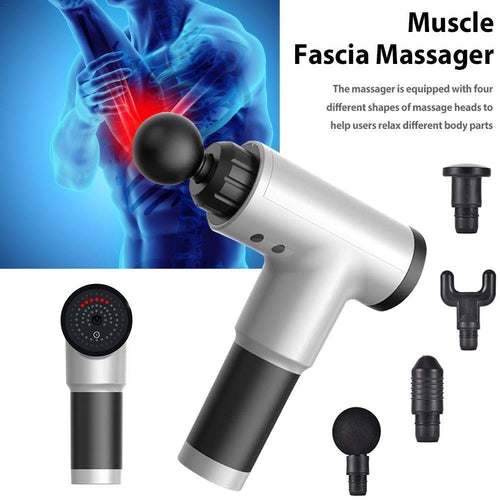 Right Choice Electric Massager Gun Deep Tissue Percussion Muscle for Pain Relief, Handheld Body Massager Sports Portable Super Quiet Brushless Motor