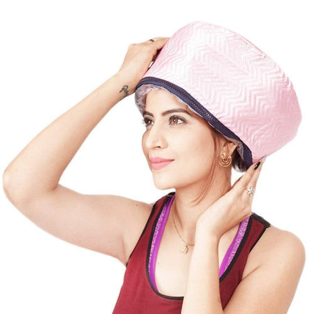 TopMart Thermal Head Spa Cap Treatment with Beauty Steamer Nourishing Heating Cap