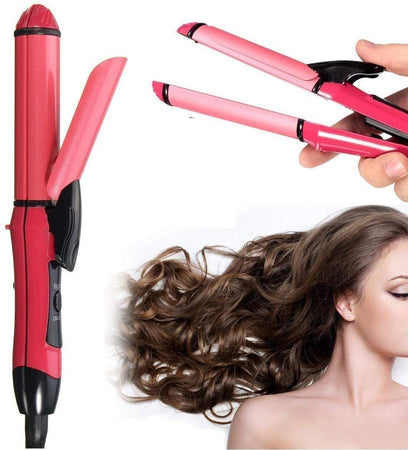 Colonize Beauty Set of Hair Straightener and Plus Curler hair curler for women, hair straightner for women, hair straightener and curler 2 in 1