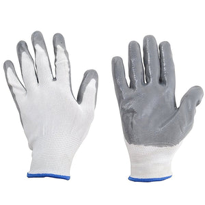 TopMart Nylon Safety Hand Gloves -1 pair
