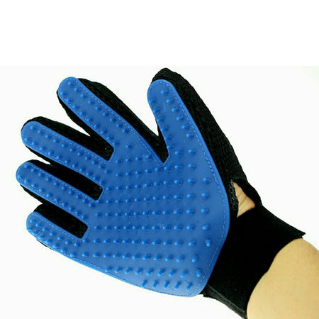 TopMart True Touch 5 Finger Deshedding Glove (1 pair)