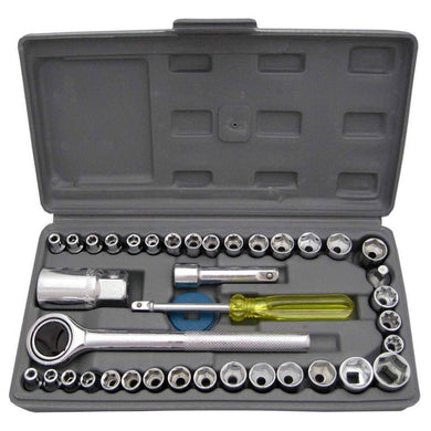 Socket Combination Toolkit - Set of 40Pcs