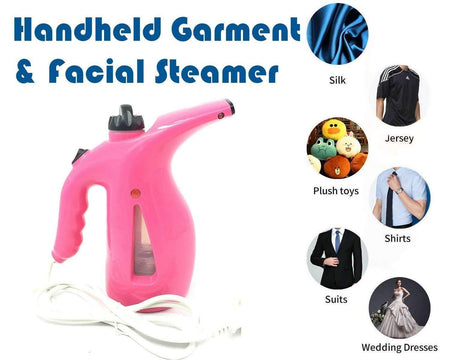 TopMart Plastic Handheld Garment & Facial Electric Steamer