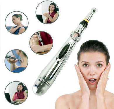 HBMALLINDIA Electronic Acupuncture Pen Electric Meridians Laser Acupuncture Machine Magnet Therapy Instrument Meridian Energy Pen massager