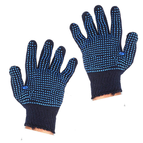 TopMart Cotton Polyester Mens Work Gloves