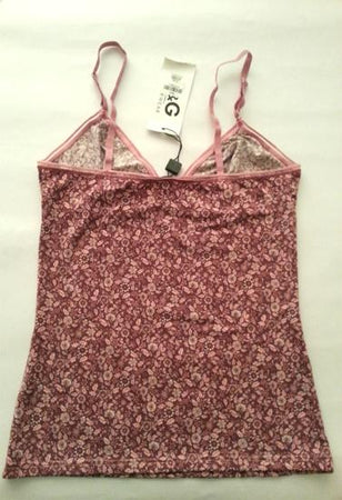 By D&G Lovely Paisley Floral Camisole Pleasant Top