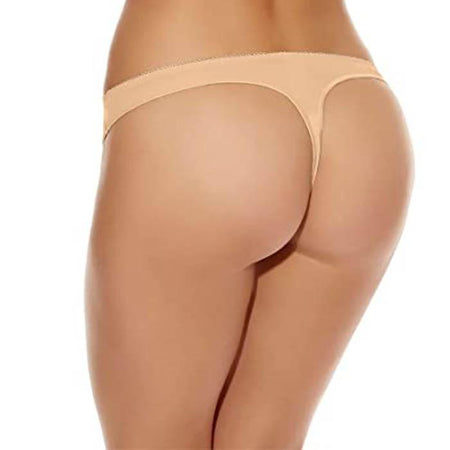 """Cute"" Seamless Skin Color Women's thong Beige Panty underwear"