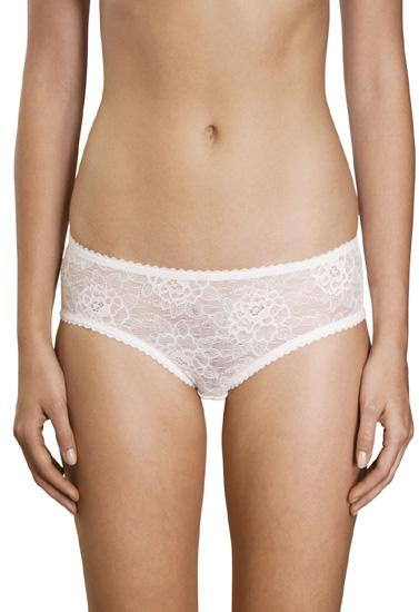 """Marks & Spencer"" Flirty White Floral See Through Panty + 1 Free Bra"