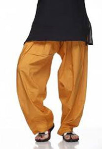 Mustard Color Traditional Patiala Salwar