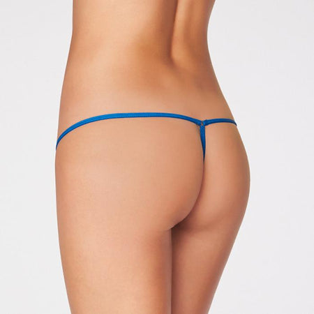 2 Snazzyway Flirty Lace Trim G-String Pack Of