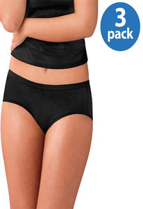 Western Beauty Comfort Covered Cotton 3-pack Panties (3XL,4XL,5XL) + 1 Free Bra