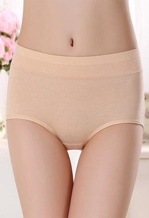 """Westren Beauty"" Plus Size Cotton Panties Pk-3+ 1 Free Bra"