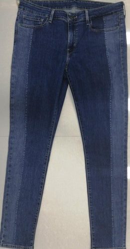 Levi's Men Blue Skinny Fit Mid-Rise Side Faded Look Stretchable Jeans