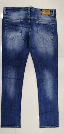 Lee Cooper Men Blue Slim Fit Low-Rise Clean Look Stretchable Jeans(Norris)
