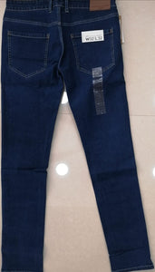 French Connection Men Blue Slim Fit Mid-Rise Clean Look Stretchable Jeans