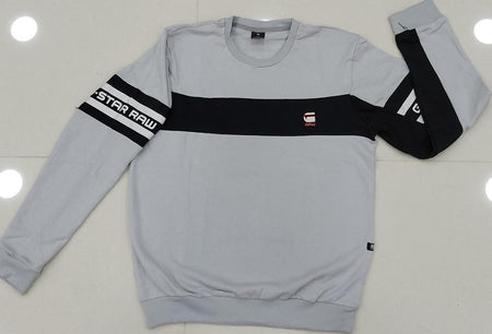 Men G-Star Raw Sweatshirt with Graphic Print on Sleeves