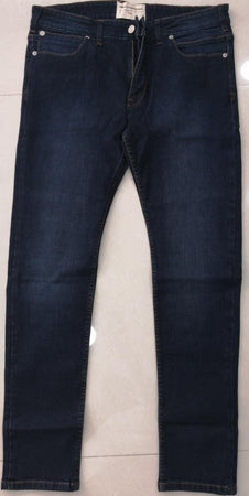 French Connection Men Blue Skinny Fit Mid-Rise Clean Look Stretchable Jeans