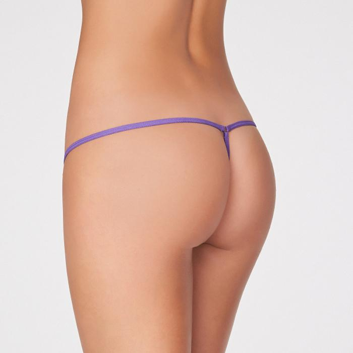 Women's Sexy Sheer Pack Of 2 Lace G-String
