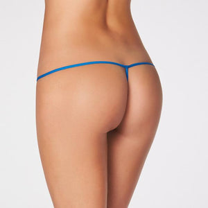 2 Women's Soft Fine Net Lace G-String Thong