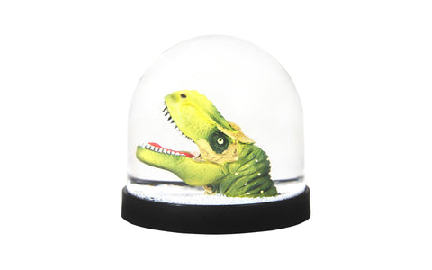 T-Rex Snow Globe made by Klevering