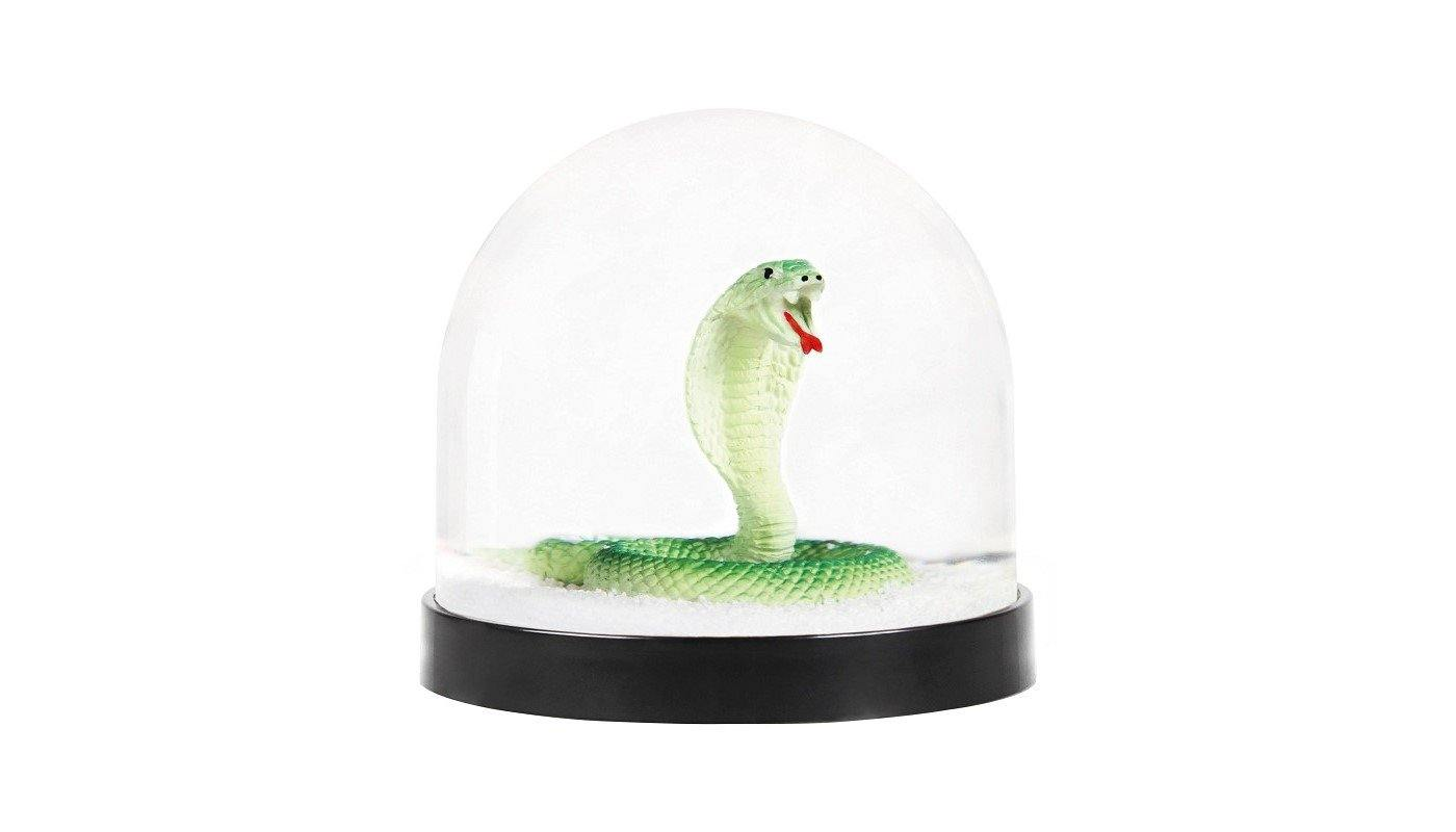 Snake Snow Globe made by Klevering