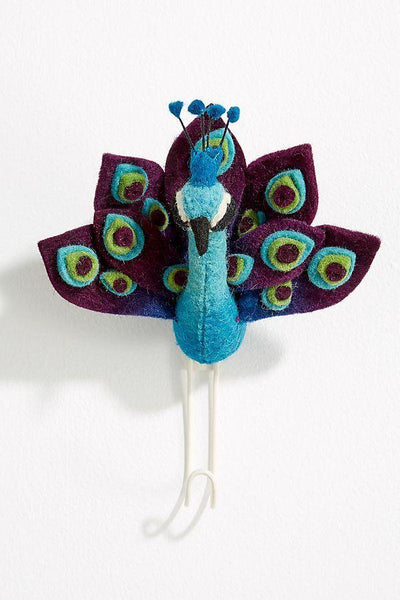 Peacock Wall Hook