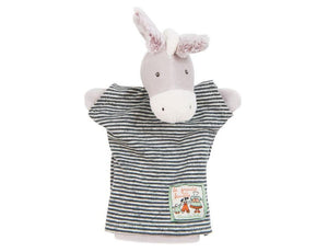 Donkey Hand Puppet made by Moulin Roty