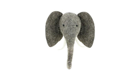 Elephant Wall Head (Semi)