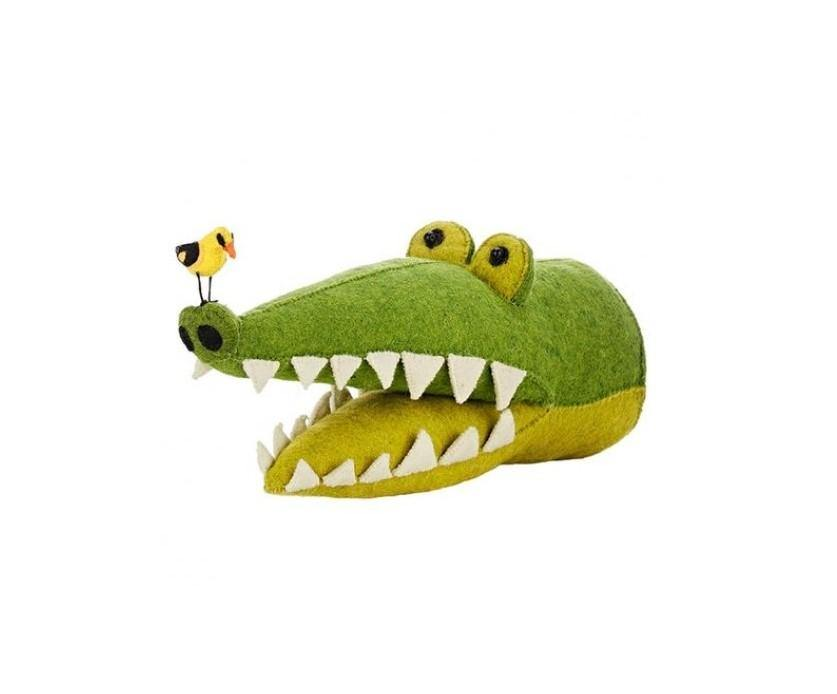 Crocodile Head Wall Decoration (mini)
