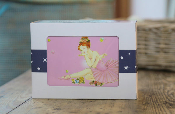 Pink Ballerina Music Jewellery Box