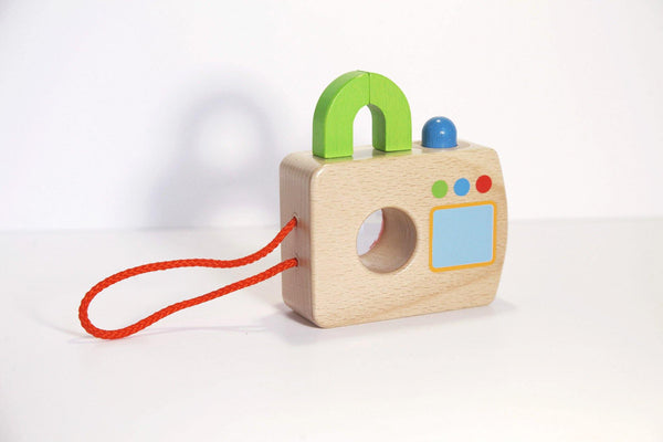 Wooden Camera Toy made by Loula and Deer