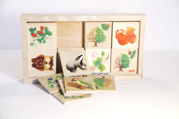 Animal Memory Game Puzzle made by Goki