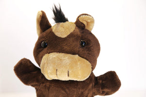 Horse Hand Puppet Toy made by Goki