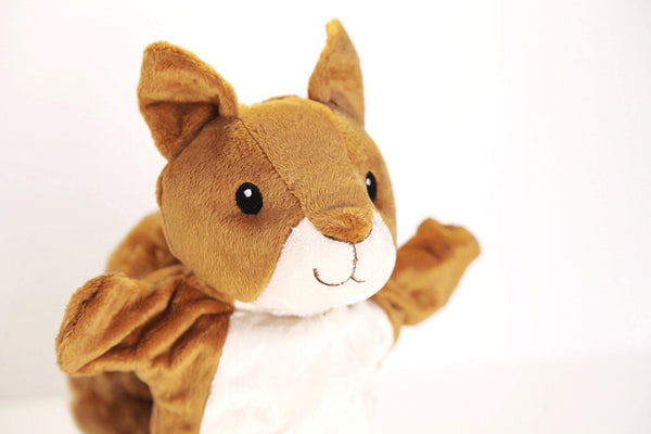 Squirrel Hand Puppet Toy made by Goki