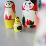 Wooden Stacking Dolls made by Loula and Deer