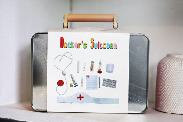 Doctor's Suitcase made by Loula and Deer