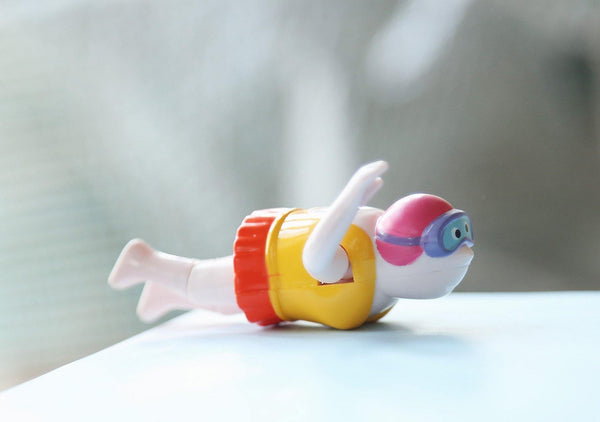 Wind Up Swimmer Bath Toy