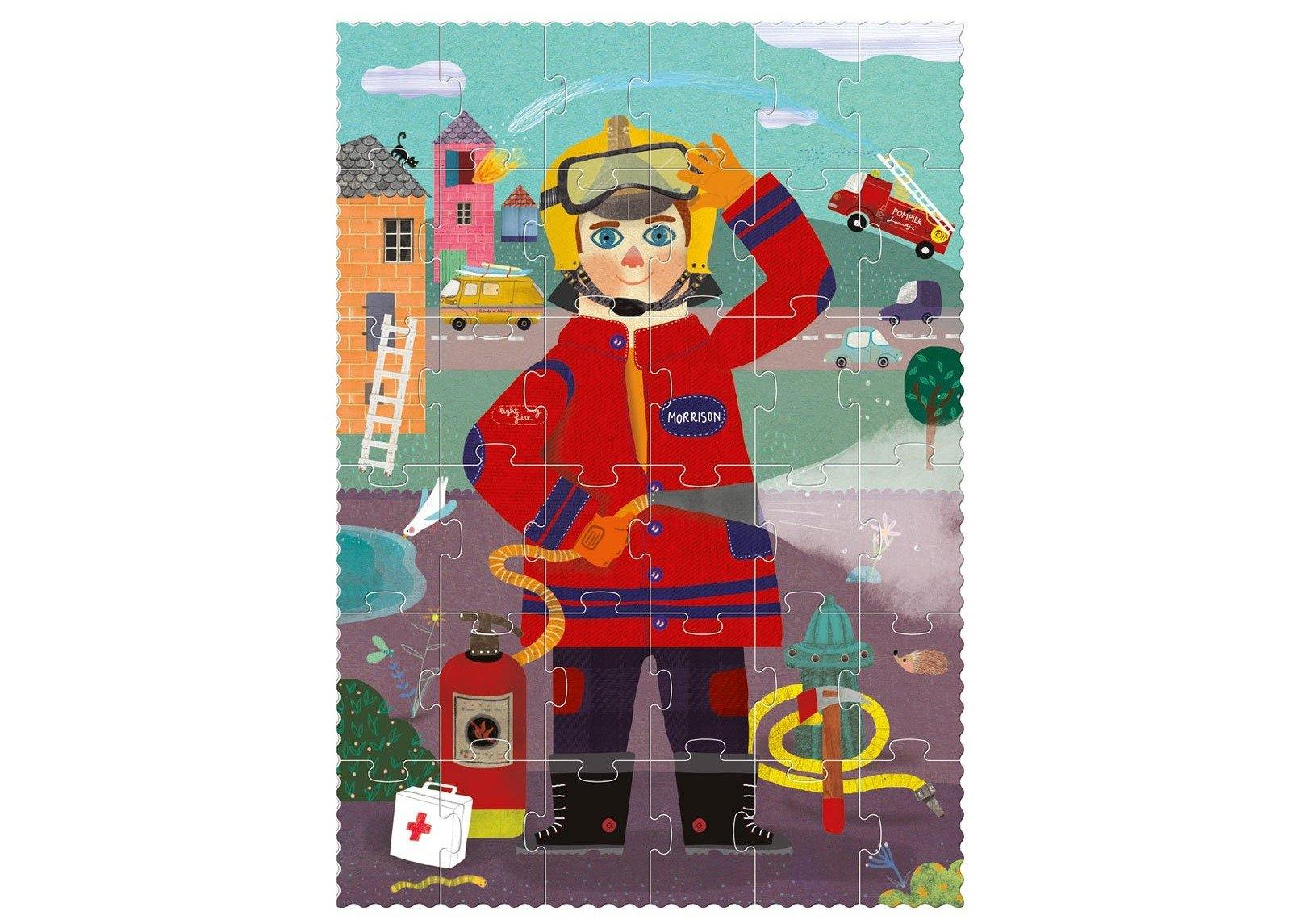 Londji Fireman Puzzle made by Londji
