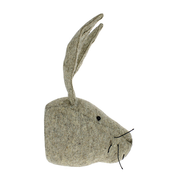 Hare Head Wall Decoration (mini)