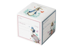 Peter Rabbit Money Box made by Loula and Deer