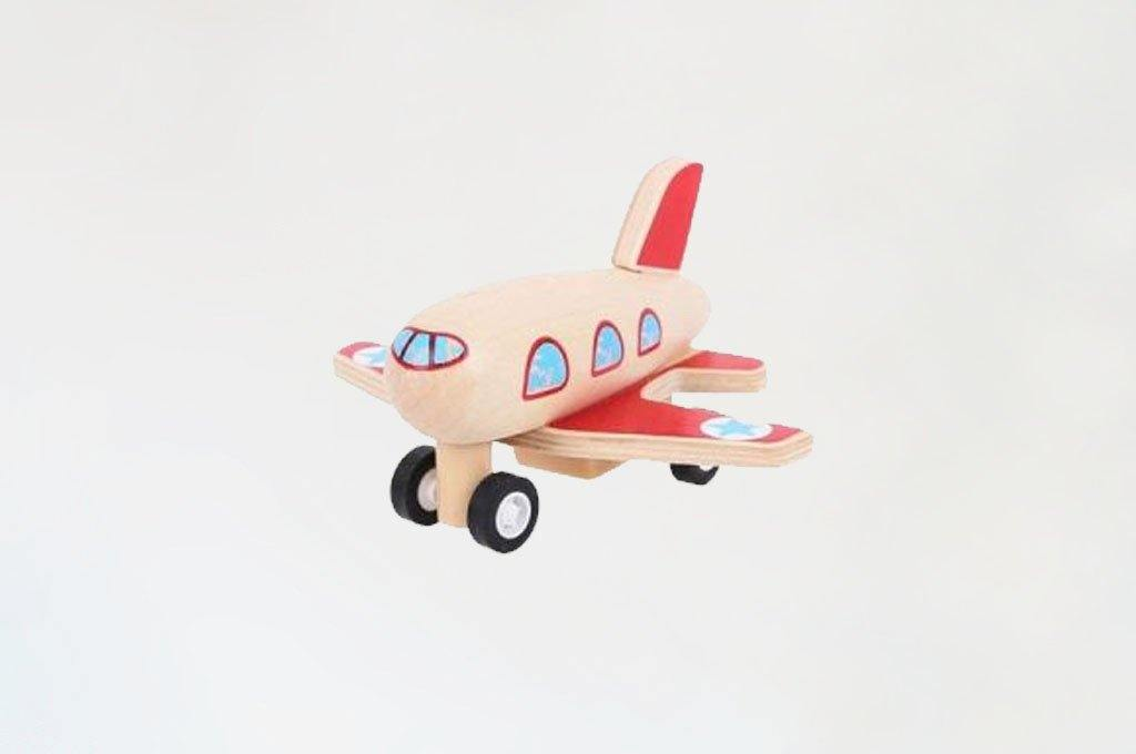 Pull-back Airplane made by Bigjigs
