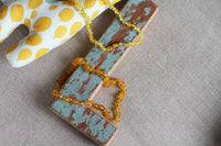 Amber Teething Necklace made by Popolini